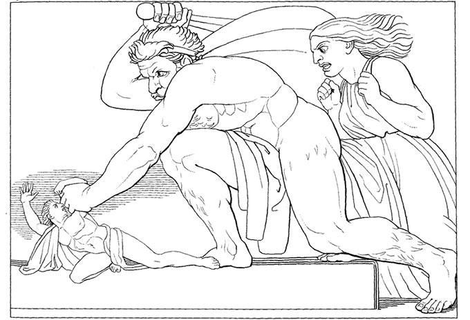 Ulysse et les Lestrygons