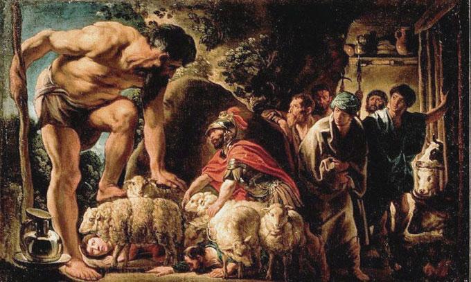 Polyphème et Ulysse