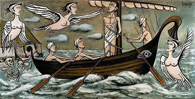 Ulysse et les Sirènes