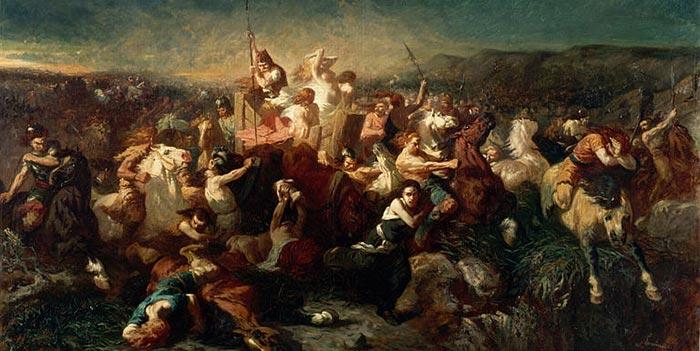 Victoire des Francs lors de la bataille de Tolbiac
