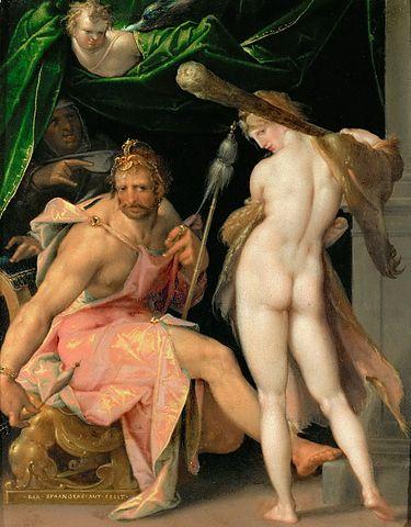 Hercule filant doux auprès d'Omphale