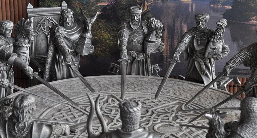 Les Chevaliers De La Table Ronde Le Roi Arthur Ne Se Limite Pas