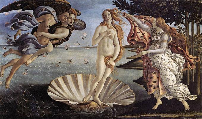 La Naissance de Venus par Botticelli