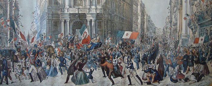 Entrée de Garibaldi à Naples