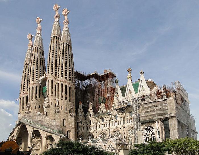 La Sagrada Familia en 2010