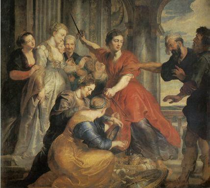 Achille découvert par Ulysse - Rubens - 1630