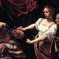Judith décapitant Holopherne par Le Caravage