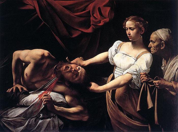 Judith décapitant Holopherne - Le Caravage - 1598