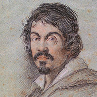 Le Caravage, par Ottavio Leoni - 1621