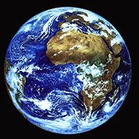 Le système solaire Terre-europe