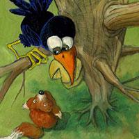 thuriferaire-corbeau-et-renard