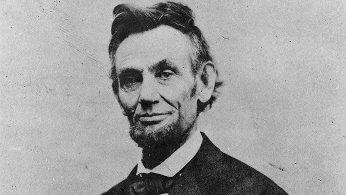 Abraham Lincoln, seizième président des Etats-Unis