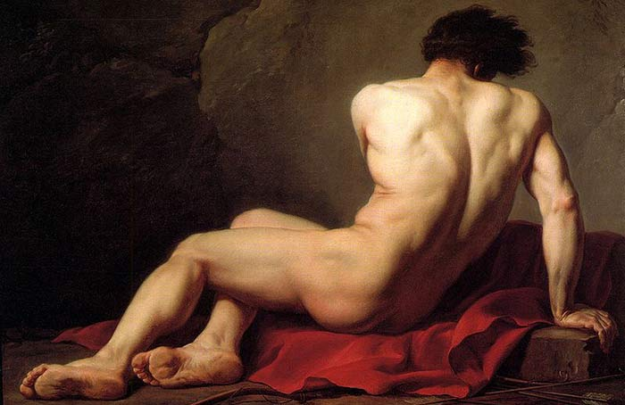 Patrocle, Jacques-Louis David