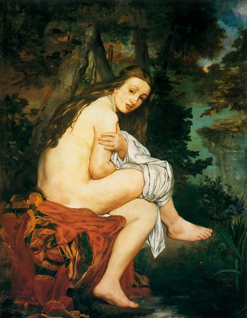 Manet Edouard, La Nymphe surprise, 1860