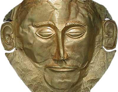 Masque mortuaire dit d'Agamemnon