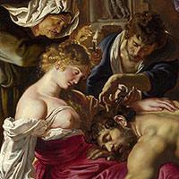 Samson et Dalila, par Rubens, 1610
