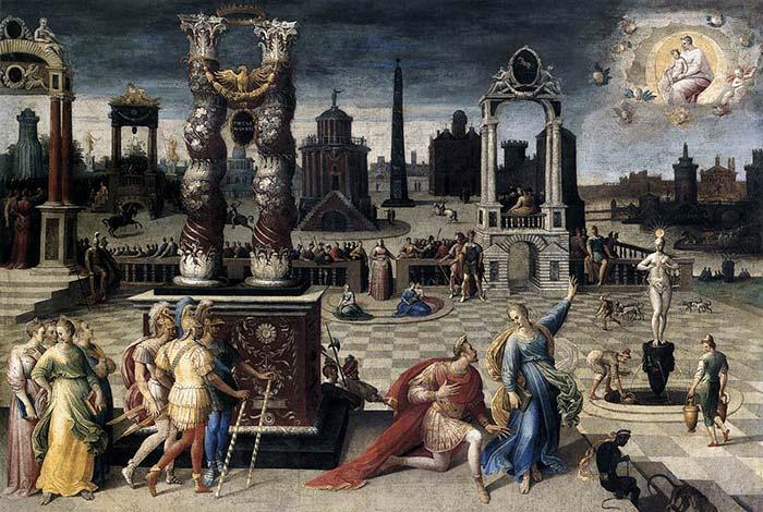 La Sibylle de Tibur, Antoine Caron, 1580