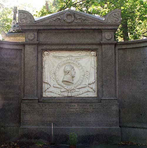 La tombe de Michel Ney au Père Lachaise