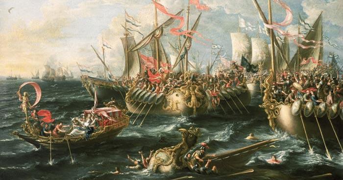 La Bataille d'Actium, Lorenzo Castro