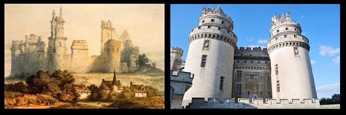 Château de Pierrefonds (Oise) - Avant/Après