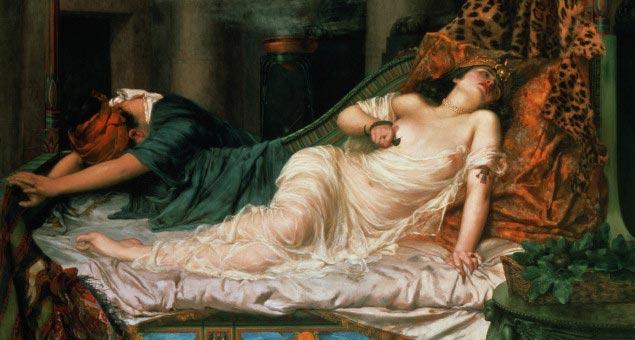 La mort de Cléopâtre, Reginald Arthur