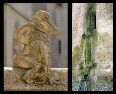 Bestiaire fantastique au château de Pierrefonds