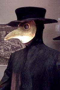 Costume de médecin de peste
