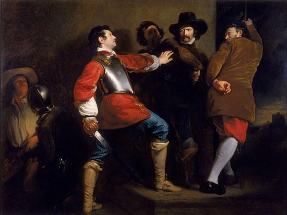 The Discovery of the Gunpowder Plot (Henry Perronet Briggs)