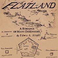 Flatland, couverture originale