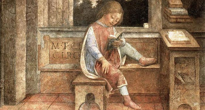 Le jeune Cicéron lisant, Vincenzo Foppa (1427–1515)