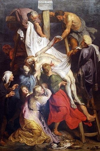 La descente de croix de Rubens, 1611