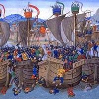 La Bataille de l'Ecluse: la Guerre de Cent ans démarre mal!