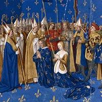 Couronnement de Louis VIII Le Lion