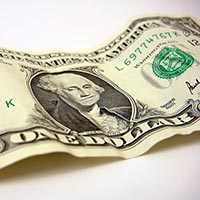 billet de 1 dollar - Photo d'illustration