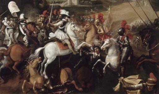 Henri IV à la bataille d'Arques