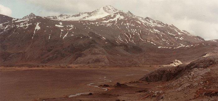 Paysage des îles Kerguelen