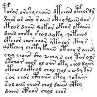 Aperçu du manuscrit de Voynich