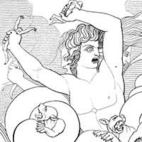 Scylla dévorant six compagnons d'Ulysse