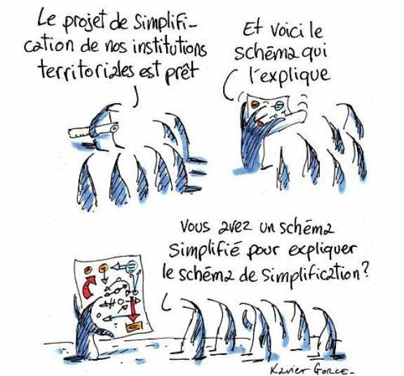 plan de simplification des collectivités territoriales...