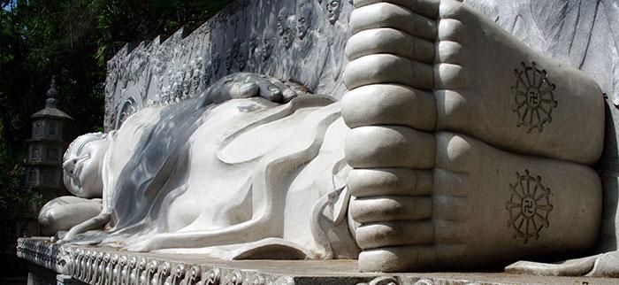 Bouddha couché de Na Trang, Vietnam