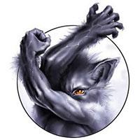 Loup-garou, image d'illustration, source inconnue