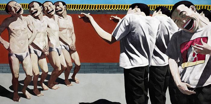 Execution, de Yué Minjun