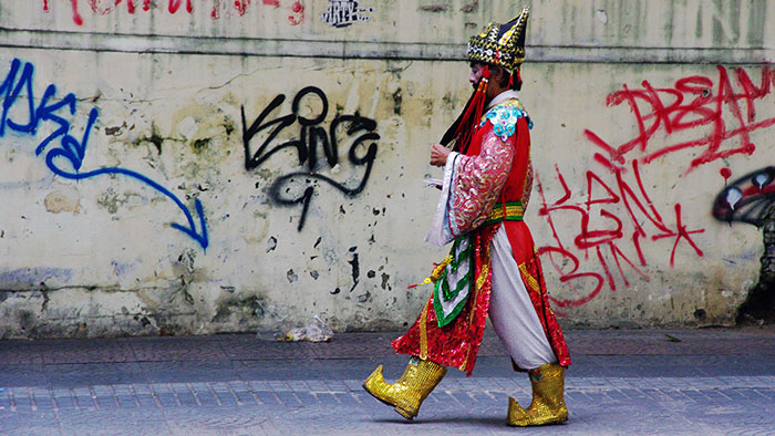 On croise parfois des gens bizarres à Saigon