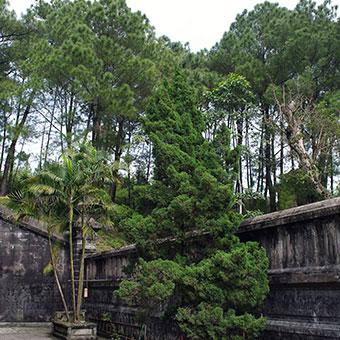Tombeau impérial de Hué (Vietnam)