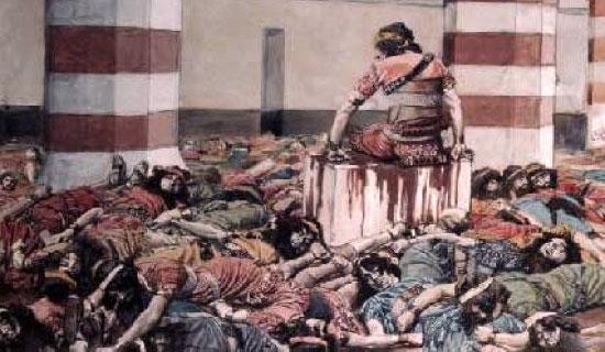 La solitude d'Abimelec après avoir massacré ses 70 frères