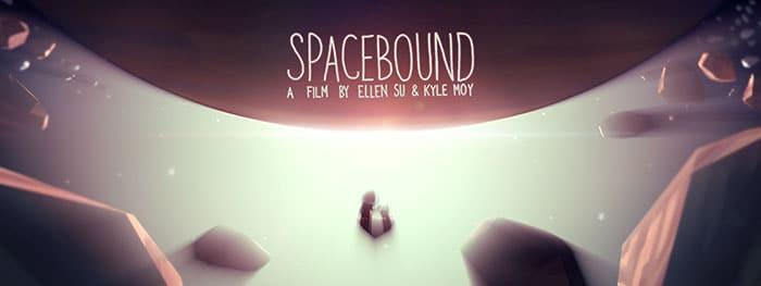 Spacebound, l'affiche du court-métrage