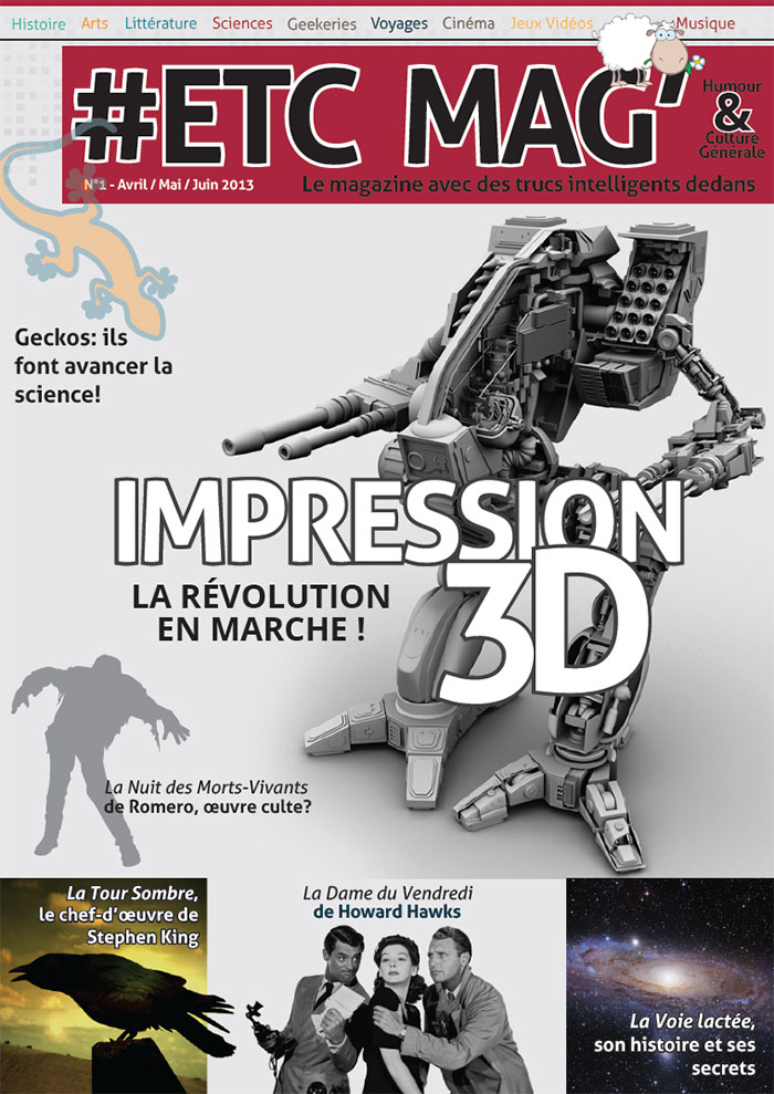 Couverture #ETC Mag N°1