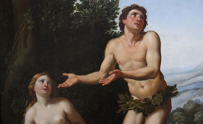 tableau celebre adam et eve