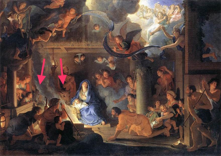 adoration-des-bergers-charles-le-brun-1689