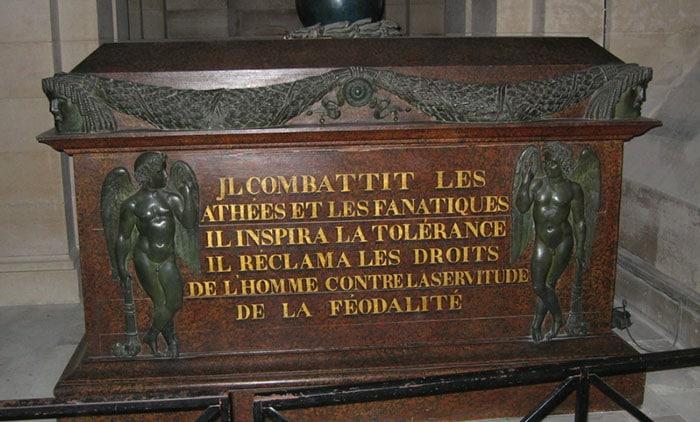Tombeau de Voltaire au Panthéon